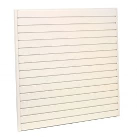 "Steel Slatwall Panel 96""H X 48""W White - Pkg Qty 4"