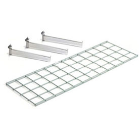 Wire Shelf 48 X 12 With 3 Brackets - Pkg Qty 2