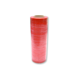 "Anti-Static Pink Stretch Wrap 18"" x 1500' x 80 Gauge - Pkg Qty 4"