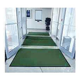 "Entryway Mat Inside Final Drying 36"" X 120"" Green"