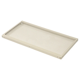 "Perforated Steel Shelf 48""W X 12""D"