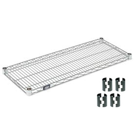 Chrome Wire Shelf 36x18 With Clips