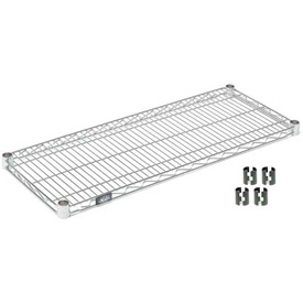 "Nexel S1830Z Poly-Z-Brite Wire Shelf 30""W x 18""D with Clips"