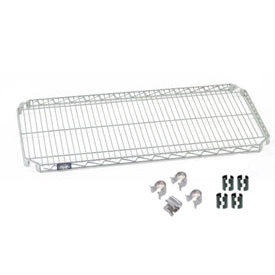 Nexel® Quick Adjust Shelf 36x24 with Clips & 4 Hooks