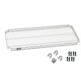 Nexel® Quick Adjust Shelf 48x18 with Clips & 4 Hooks