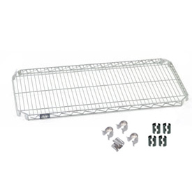 Nexel® Quick Adjust Shelf 48x24 with Clips & 4 Hooks