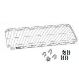 Nexel® E-Z Adjust Shelf 60x24 with Clips & 4 Hooks