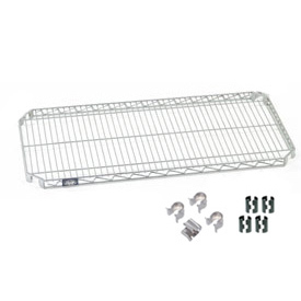 Nexel® E-Z Adjust Shelf 72x24 with Clips & 4 Hooks