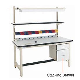"6""H Lockable Stacking Drawer"