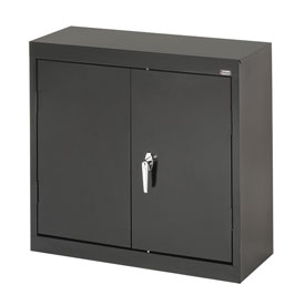 Sandusky Wall Cabinet WA21301230 Double Door - 30x12x30, Black