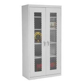 Sandusky Expanded Metal Front Storage Cabinet CA4M361872 -36x18x72, Gray