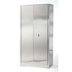 Stainless Steel Storage Cabinet 36 x 18 x 84