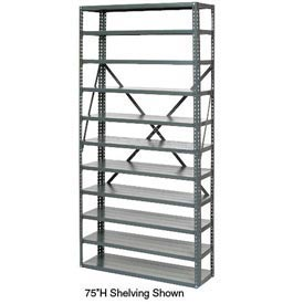 "Open Style Steel Shelf With 7 Shelves 36""Wx12""Dx39""H Ready To Assemble"