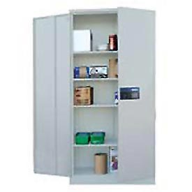 Sandusky Snapit Keyless Electronic Storage Cabinet KDE7824 Easy Assembly - 36x24x78, Light Gray