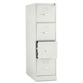 "28-1/2"" 4 Drawer Vertical File - Letter - Gray"