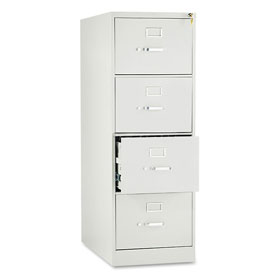 "28-1/2"" 4 Drawer Vertical File - Legal - Gray"