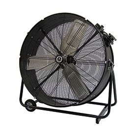 TPI CPBS30D,30 Inch Portable Blower Fan Direct Drive Swivel Base 1/3 HP 4400 CFM