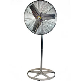 "Airmaster Fan 30"" Washdown Pedestal Fan 70764 1/3 HP 8800 CFM"