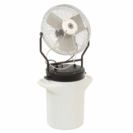 "TPI 18"" Self Contained Power Mister Hand Carry Misting Fan PM-18S"