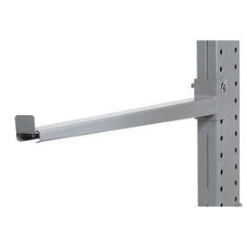 "Cantilever Rack Straight Arm With 2"" Lip 48 ""L, 3000 Lbs Capacity"