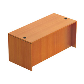 """Offices To Go™ Desk Shell - 66"""" x 30"""" - Cherry"""