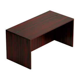 "Offices To Go™ Desk Shell - 60"" x 30"" - Mahogany"