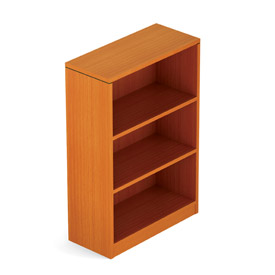 Offices To Go™ 2 Shelf Bookcase in Medium Cherry - Executive Modular Furniture