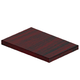 Offices To Go™ Pedestal Top in Mahogany - Executive Modular Furniture