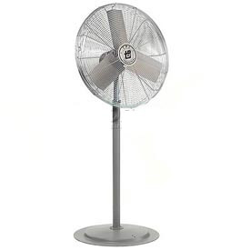 TPI 653385,24 Inch Pedestal Fan 1/4 HP 4300 CFM 3 PH Explosion Proof Motor