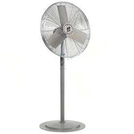 TPI 653386,30 Inch Pedestal Fan 1/4 HP 5400 CFM 3 PH Totally Enclosed Motor