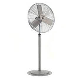 "TPI 24"" Washdown Rated Pedestal Fan 1/3 HP 8200 CFM"