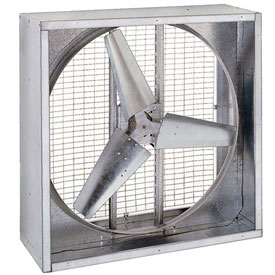 "36"" Direct Drive Agricultural Box Fan 230V 1/2 HP Motor"