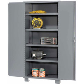 "Jamco Heavy Duty Storage Cabinet DS148 - Welded 14 ga. 48""W x 18""D x 78""H"