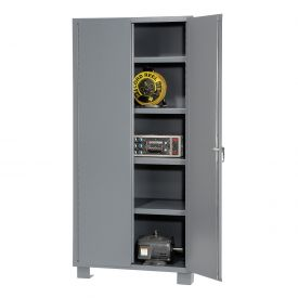 "Jamco Heavy Duty Storage Cabinet DS236 - Welded 14 ga. 36""W x 24""D x 78""H"