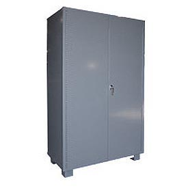 "Jamco Heavy Duty Storage Cabinet DS260 - Welded 14 ga. 60""W x 24""D x 78""H"
