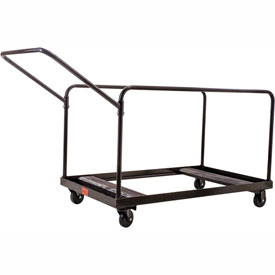 "Table Cart For 48"" and 60"" Round Folding Tables Holds 10"