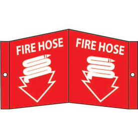 Fire Hose Sign - Acrylic 8 x 14-1/2