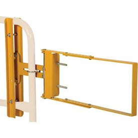"Spring-Loaded Safety Gate 24""- 40""W Opening Yellow"