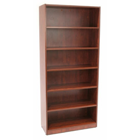72 Inch Bookcase in Cherry - Manager Series