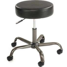 AntiMicrobial Medical Stool - Vinyl - Black