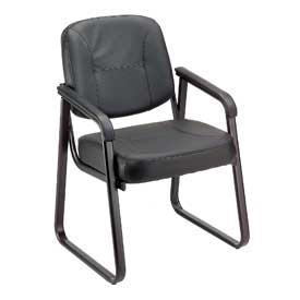 Interion™ - Leather Reception Chair
