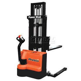"PrestoLifts™ PowerStak™ Fully Powered Stacker PPS2200-101AS 2200 Lb. 101"" Lift"