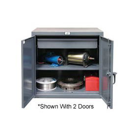 Strong Hold® Heavy Duty Counter Height Cabinet 23-201-1DB - With Drawer 24x20x36