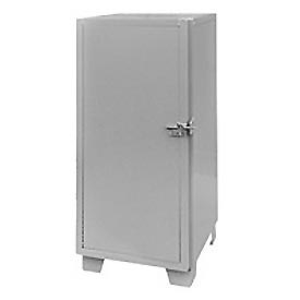 "Global™ Heavy Duty Narrow Storage Cabinet MG224 - Solid Door 24""W x 24""D x 54""H"