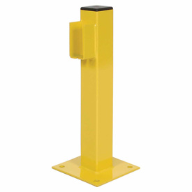 "20""H Single Rail End Post"