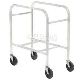 "All Welded Aluminum 2 Lug Cart, 28-1/4""L x 15-3/4""W x 33""H, No Lugs"