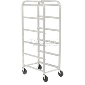 "All Welded Aluminum 5 Lug Cart, 26""L x 18-3/4""W x 61""H, No Lugs"