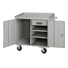 36 X 26 1 Drawer Mobile Cabinet Bench