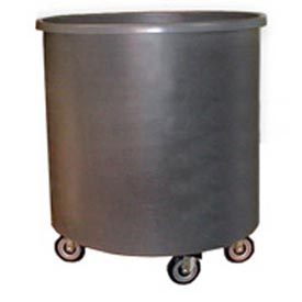 Bayhead RT-38LP Round Container Truck 206 Gallon, Gray