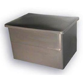 Bayhead Storage Container with Lid VT-20 - 32-1/2 x 23-1/2 x 20 Gray